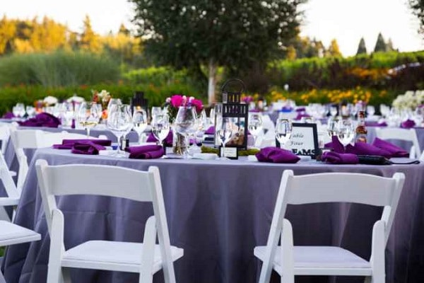 Temperatures For Outdoor Weddings