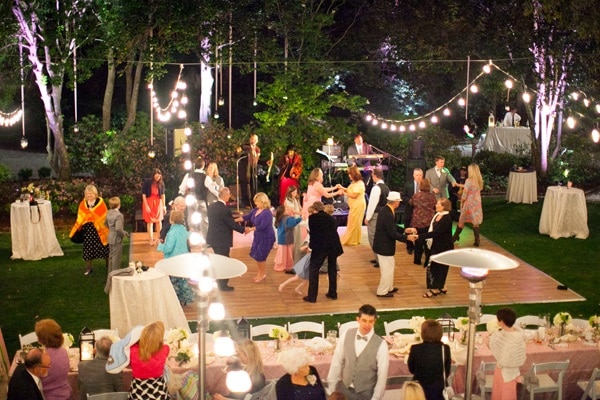 Dance Floor : Outdoor Weddings